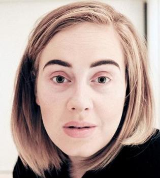 Адель, Адель фото, Адель видео, Адель без макияжа, Адель болезнь, Адель заболела