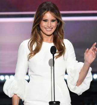 дональд трамп, дональд трамп жена, меланья трамп, новая певрая леди америки, певрая леди америки