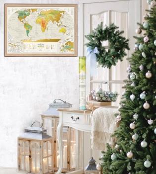 travelmap, подарки, новый год, идеи подарков, подарочные карты, карты для путешествий