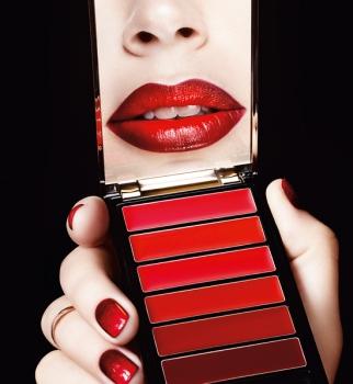 loreal paris, red obsession, viva бал, color riche, новогодний макияж, новый год