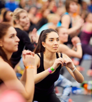 nike+ training club, фитнес-конвенция