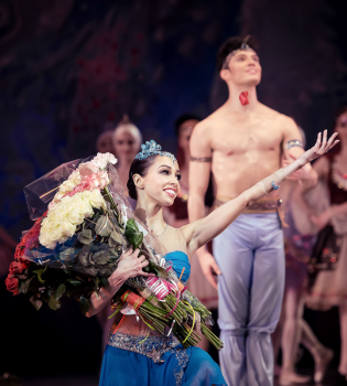 балет корсар, екатерина кухар, александр стоянов, самая известная балерина украины, корсар национальная опера