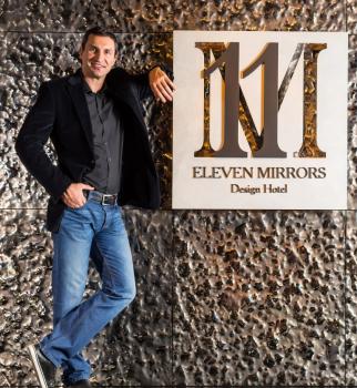Кличко, фонд Кличко, 11 Mirrors, отель 11 Mirrors, 11 Mirrors Киев