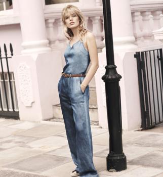 Pepe Jeans London, модные вещи весна лето 2017, новая коллекция Pepe Jeans London, деним, джинсы в ретро-стиле