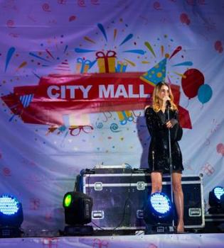 день рождения ТРК City Mall, певица Tayanna, Tayanna