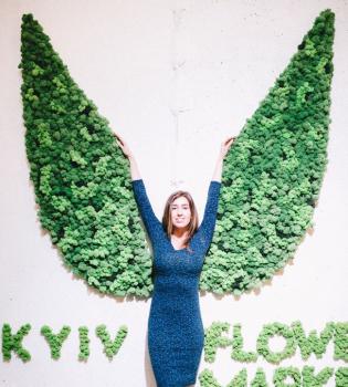 kyiv flower market, ярмарка цветов
