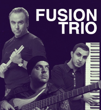 Джазовый вечер с Fusion Trio, Fusion Trio, джаз, Александр Муренко, Антон Давидянц, Руслан Болатов
