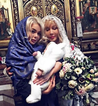 Ирина Билык крестила брата Алины Гросу