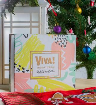 Новая коробочка VivaBeauty Box MakeUp me Golden - фантастический подарок к волшебному празднику