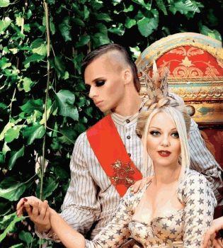 Арина Домски,мода,фото,журнал вива,журнал Viva