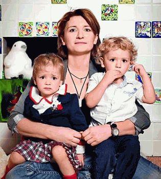Диана Арбенина,дети,двойняшки,фото,Израиль,2014