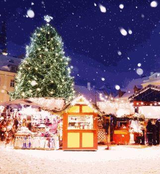 Зимняя сказка Балтики
