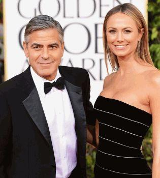 Джордж Клуни,Стейси Киблер,Джордж Клуни и Стейси Киблер расстались,Джордж Клуни девушка
