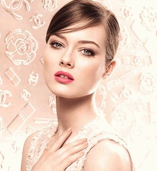 Chanel, модный макияж 2013
