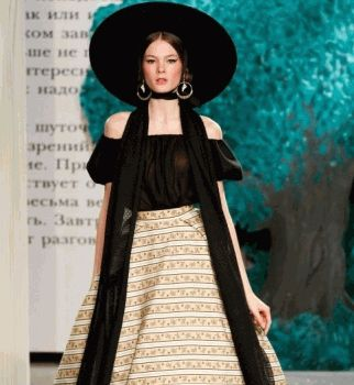 ульяна сергиенко, неделя высокой моды в париже 2013