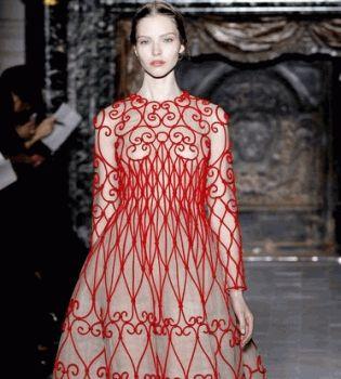 неделя высокой моды в париже 2013, valentino 2013