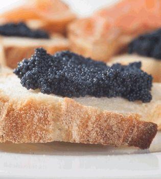 Оскар,оскар 2012,закуска с икрой,фаршированные грибы