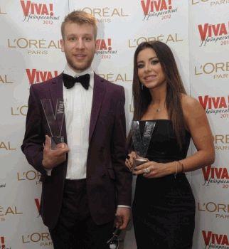 Самые красивые,2012,журнал Viva,Ани Лорак,Иван Дорн,Самые Красивые 2012 победители,вива самые красивые 2012 победители