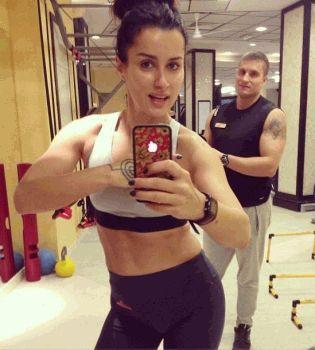 Тина Канделаки,фитнес