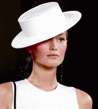 мода весна 2013, модные шляпки фото