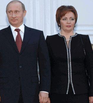 Владимир Путин,Владимир Путин развод,Людмила Путина