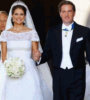 принцесса Мадлен,принцесса Мадлен свадьба,королевские свадьбы