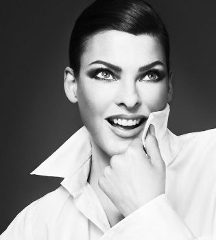 Линда Евангелиста,фото,фотосессия,реклама,Moschino