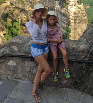 Лидия Таран,Лидия Таран фото,фото Лидия Таран,Лидия Таран дочь,Лидия Таран отдых,Лидия Таран с дочерью