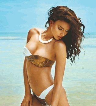 Ирина Шейк,фото,в бикини,фигура,бюст,грудь