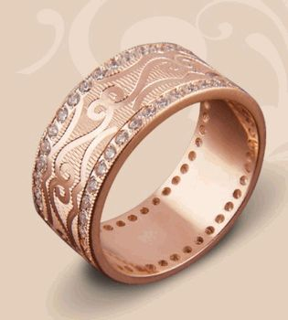 Золотой Век,Золотой Век фото,обручальные кольца,обручальные кольца фото,обручальные кольца с алмазной гранью