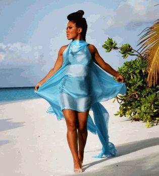 Гайтана,Гайтана фото,фото Гайтана,Гайтана на Мальдивах,Гайтана Мальдивы,Гайтана травмировалась,Гайтана травма