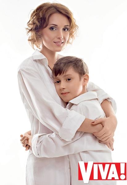 Аида Николайчук сын