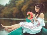 Быть украинкой: Аня Добрыднева снялась в патриотичном фотосете