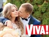 Яна Соломко вышла замуж: свадебная фотосессия для Viva!
