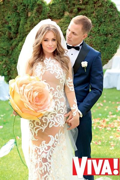 Яна Соломко и ее муж Олег. Свадебные фото