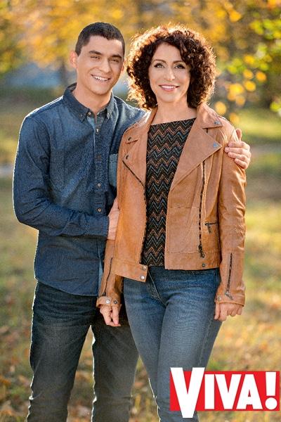 Надежда Матвеева и ее сын Влад в фотосессии для Viva!