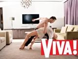 Константин Томильченко и его жена Натали Кротова в фотосессии для Viva!