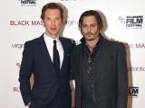 """Джонни Депп, Бенедикт Камбербэтч и другие знаменитости на премьере фильма """"Черная месса"""" в Лондоне"""