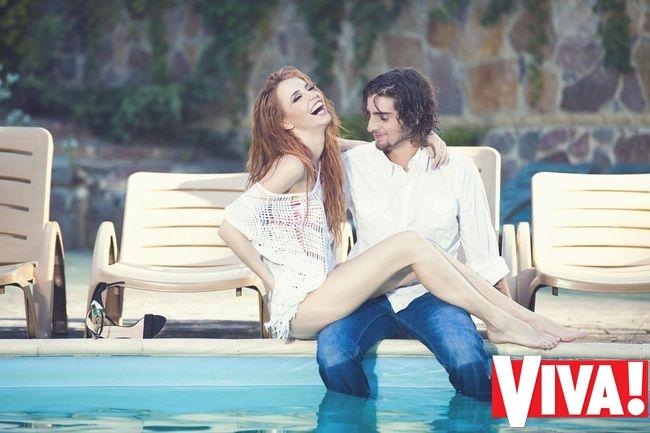 Надя Дорофеева и Владимир Дантес в романтической фотосессии для Viva!