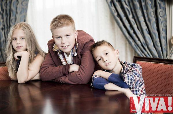 Андрей Доманский и его семья
