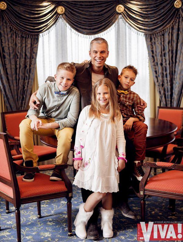 Андрей Доманский дети фото