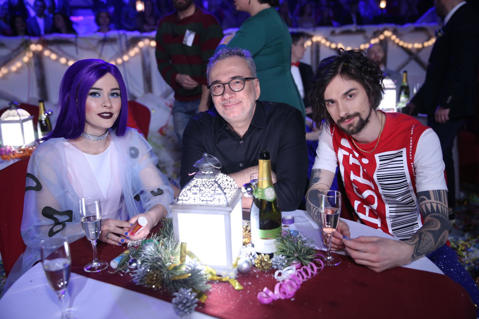 Юлия Санина, Константин Меладзе и Антон Савлепов