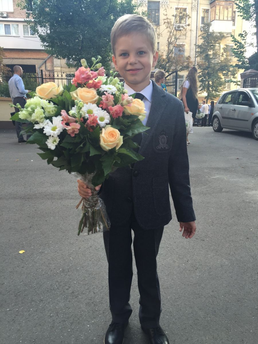 сын Юлии Бортник