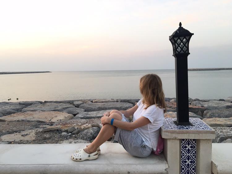 """Актриса """"Дизель Шоу"""" Яна Глущенко провела медовый месяц в Эмиратах"""