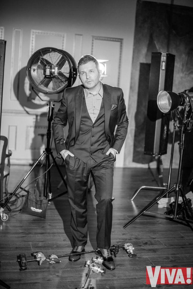 Юрий Горбунов в фотосессии для журнала Viva!