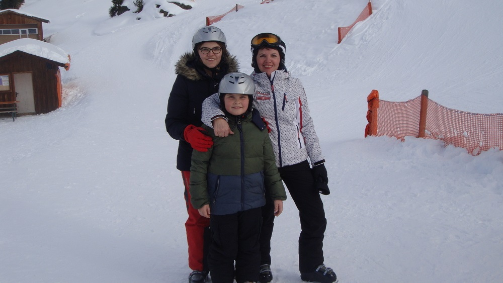 Елена Фроляк семья дети фото
