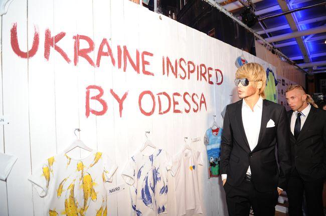 Сергей Зверев на неделе моды в Одессе