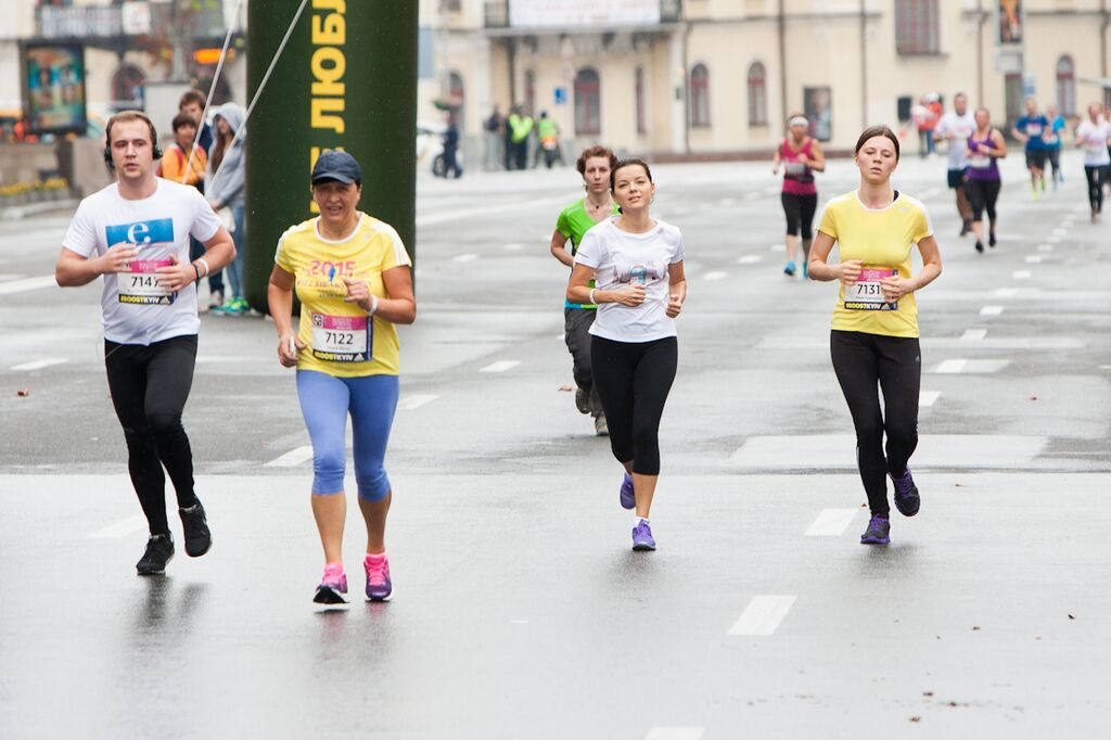 Маричка Падалко ради детей пробежала 10 км за 56 минут