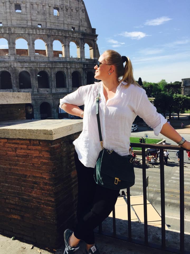 Олеся Жураковская в Риме