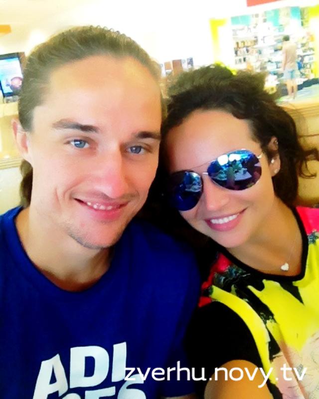 Маша Фокина и ее парень